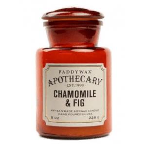 CHAMOMILE&FIG Большая свеча в стекле PaddyWax