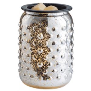 Арома свет-к настольный Серебряный Меркурий стекло Mercury Glass Illumination