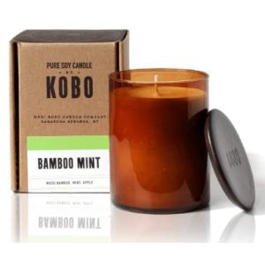 Ароматическая свеча BAMBOO MINT (большая)